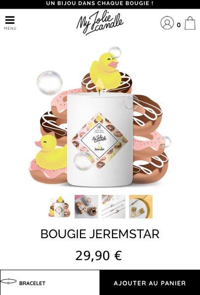 bougie jeremstar